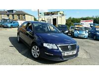 2007 VW PASSAT 2.0 TDI 140 BHP 4 DOOR SALOON 6 SPEED MANUAL