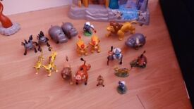 Lion Guard playset and figures