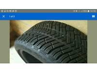 Michelin PA4 Winter tyres 235/40/19 £250 RRP