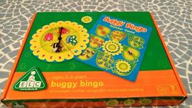 ELC Buggy Bingo Numbers Game