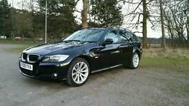2009 BMW 3 Series 320D SE Touring e91 model, Full service history, 3 Months Warranty,101k