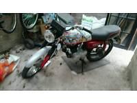 Honda 125cc & extras