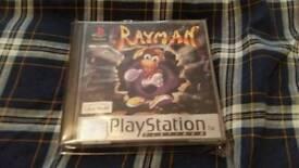 Ray man 1 and 2 playstation