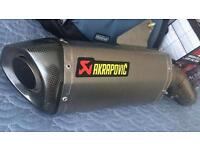 Akrapovic slip on Exhaust_ Ducati Hyperstrada 821