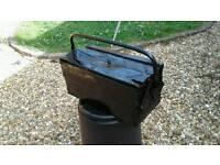 Vintage Metal Black Toolbox for only £5