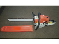 New Petrol MT9999 Chainsaw with Oregon 18 inch Chain and 2 stroke engine