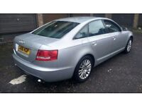 audi a6 se tdi turbo diesel 2007 56 plate metallic silver alloys