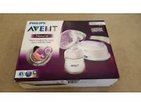 Avent natural breast pump single electric