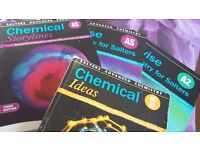 AS and A Level Chemistry textbooks with revision guides (ocr salters)