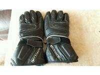 Ladies motor bike gloves