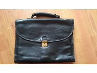 Vintage Grinta of Montreal Genuine Leather Brief Case