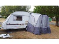 2 berth touring caravan