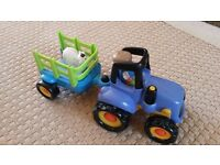 ELC Happyland Farm Tractor - with lights and sound