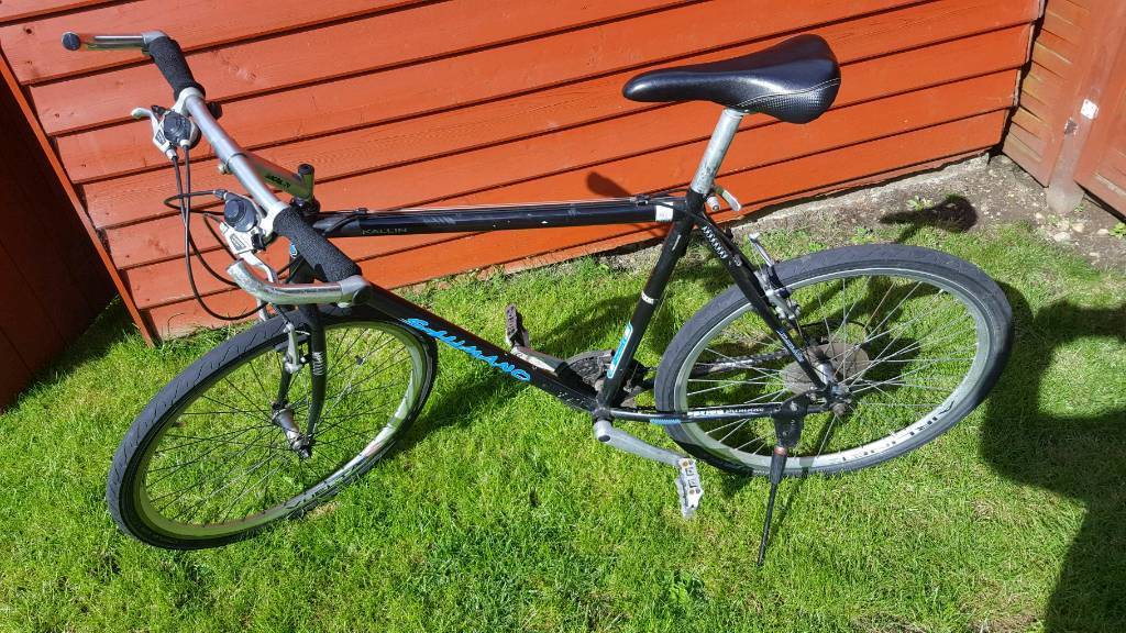 Mens alloy hybrid bike