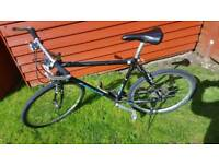 Mens alloy hybrid bike