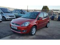 2006 Ford Fiesta Ghia 5 door hatchback genuine low mileage