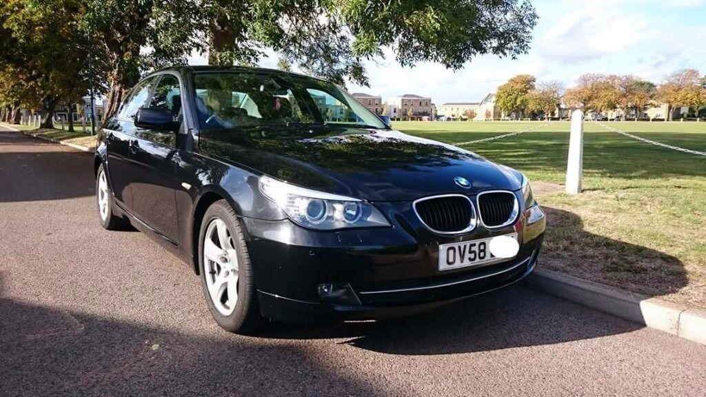 Black BMW 520 Diesel Auto