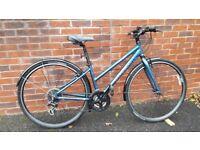 "Trek 7.1 FX Ladies Hybrid Bike with 15"" frame"