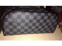 Real Louis Vuitton men's wash bag