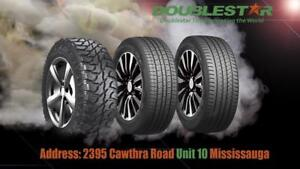 """BRAND NEW TIRES ( ONE MONTH BLOW OUT SALE) """"DS TIRES WHOLESALE INC."""" double star tire mian loaction"""