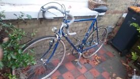 Raleigh race bike older classic style