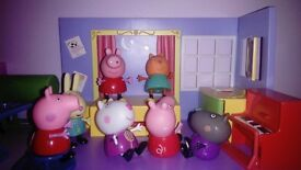 Peppa Pig toys, 4 sets, perfect condition