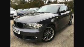 Bmw 120d m sport coupe 6 speed Manuel 1 series