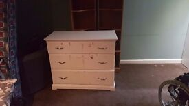 Nice large ikea white chest of draws