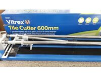 600mm tile cutters, used once for one job, boxed and like new