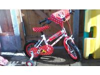 Great minnie mouse bike