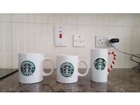 selection of 3 starbucks mug brand new £10.00 for all 3