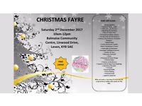 Christmas Fayre and SANTA'S GROTTO!