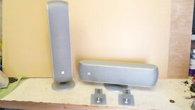 4 B&W (BOWERS & WILKINS SPEAKERS 100W / 8 ohm can be mounted upright or horizontal