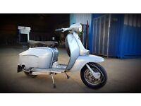 Silver Special Lambretta