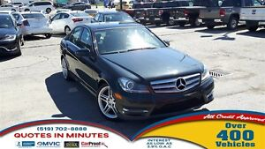 2013 Mercedes-Benz C-Class C300 4MATIC | ROOF | NAV | LEATHER |