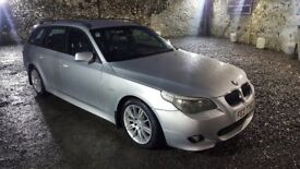 2005 BMW 525i M Sport Touring LPG / gas converted 118K