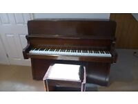 Bentley upright piano - good condition £280