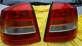 Astra mk4 rear lights and bulbs