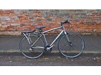 specialized sirrus hybrid bike lightweight cycle 24 speed size medium plus etras