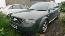 Audi allroad 2.7t lpg 7 seater