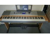 Yamaha DGX 630 Complete with Stand and Pedal Box