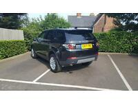 Land Rover Discovery Sport TD4 SE TECH (black) 2017-03-02