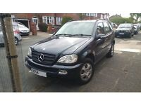 MERCEDES BENZ ML 350 - AUTOMATIC - LPG - LOW MILEAGE - SAT NAV - REVERSE CAMERA