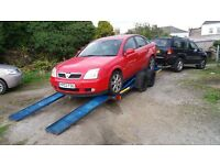 Scrap cars and vans removed and mot Failures purchased.