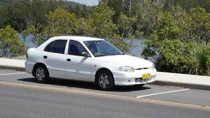 1999 Hyundai Excel Hatchback Cameron Park Lake Macquarie Area Preview