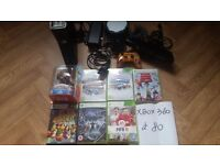 Xbox360 bundle (if anyone pick up today i will take £60)