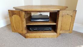 Oak TV Unit (John Lewis)