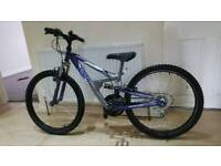 Great 24inch dual suspension mountain bike in good condition all fully working