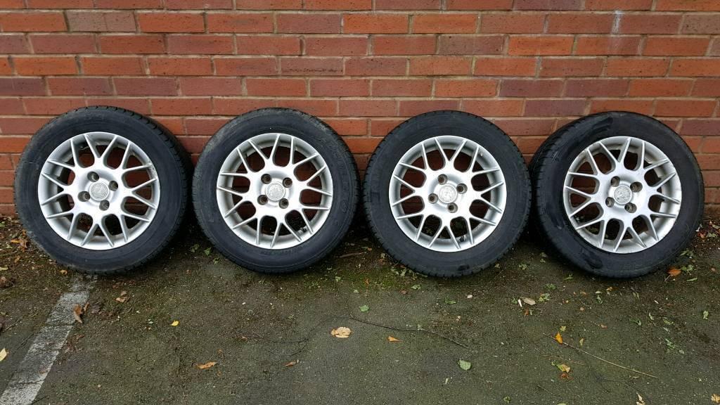 Mx5 mk2 wheels & tyres 185/60 R 14