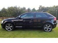 09 AUDI A3 ONLY 50000 MILES FROM NEW, FULL SERVICE HISTORY LIKE NEW
